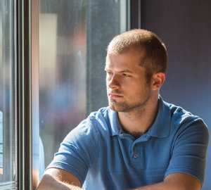 young man wonders about addiction and mental health counseling in Arlington VA